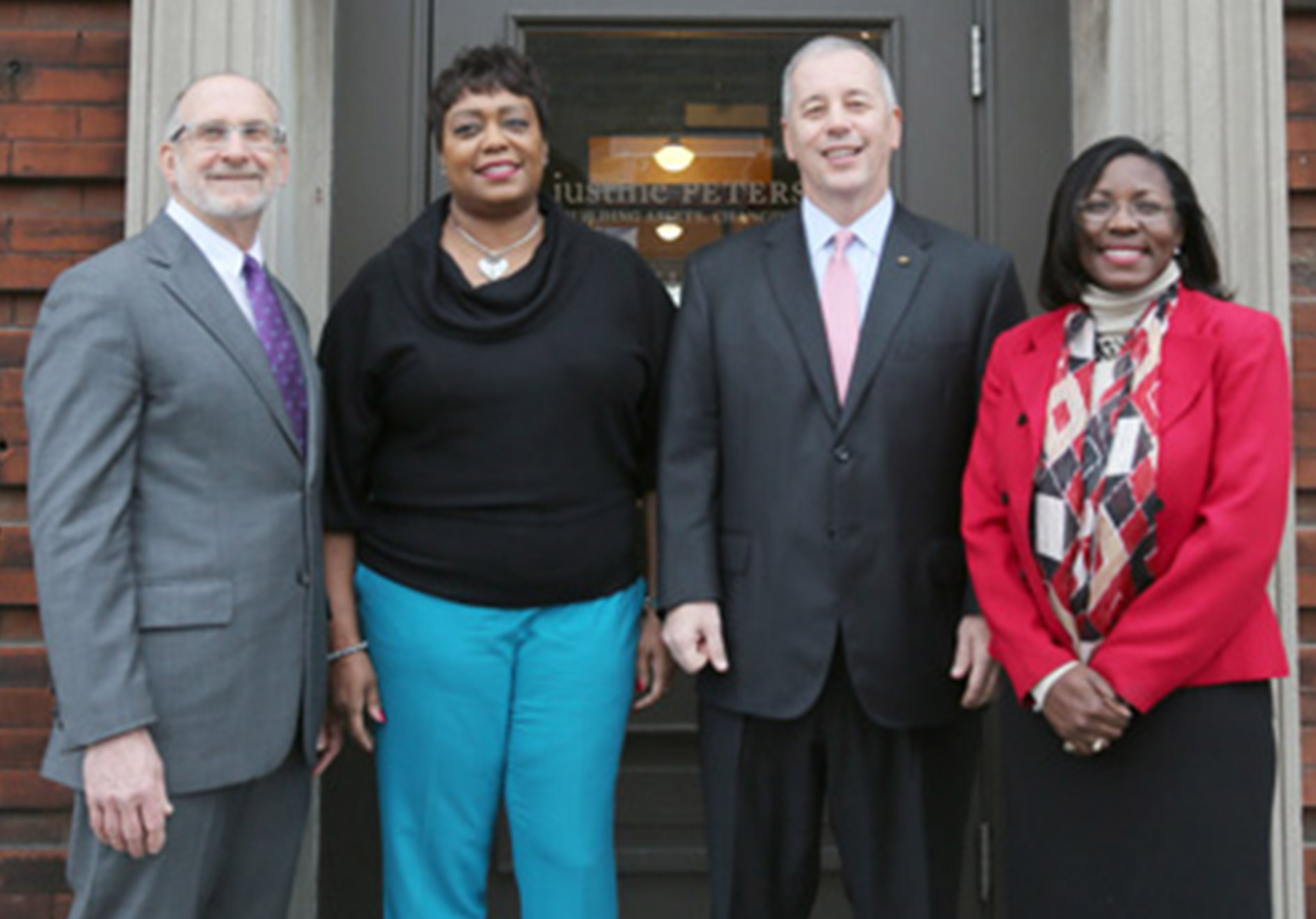 Left to Right: Rob Boyle, Irvetta Williams, Mike Hart, Dr. Tiffany Anderson.