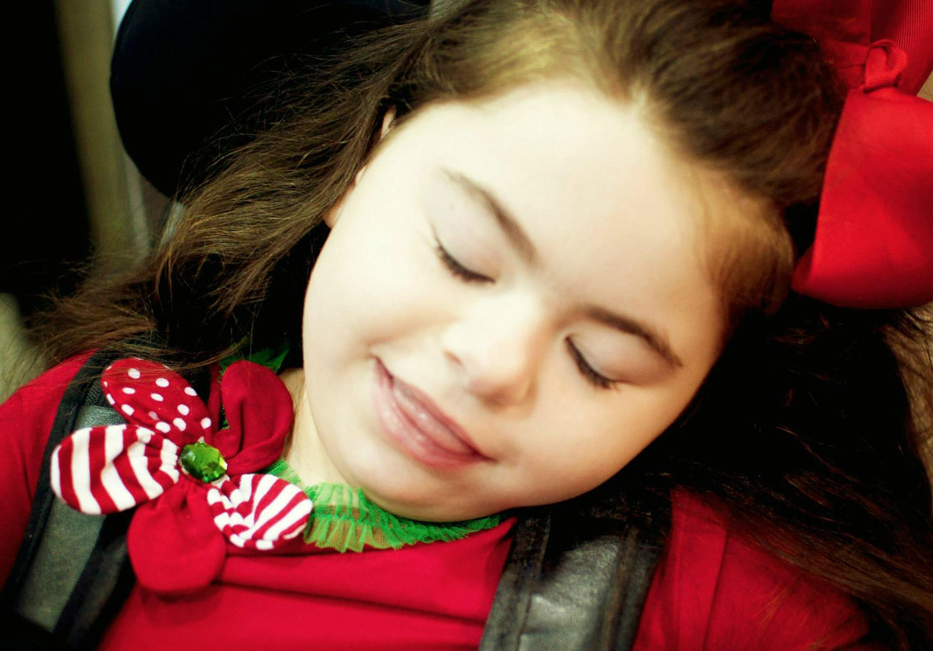 Ali at Christmas