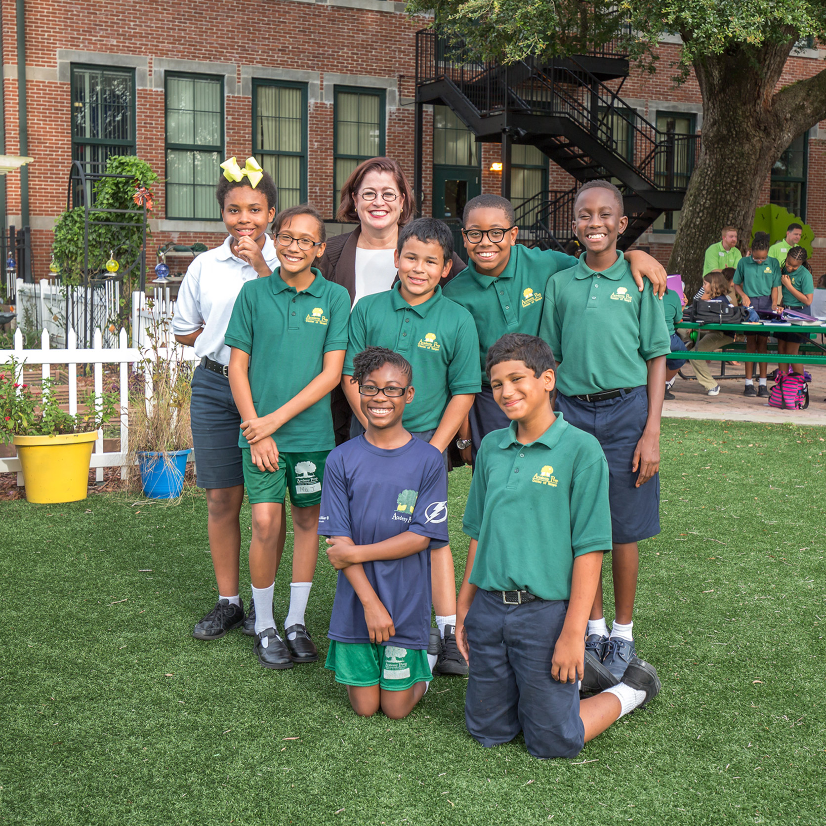 Students at Academy Prep Center of St. Petersburg