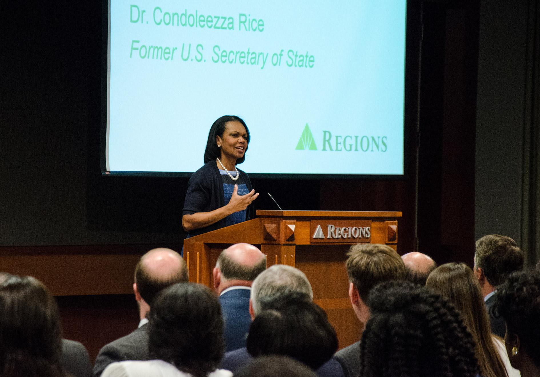 Condoleeza Rice at Regions
