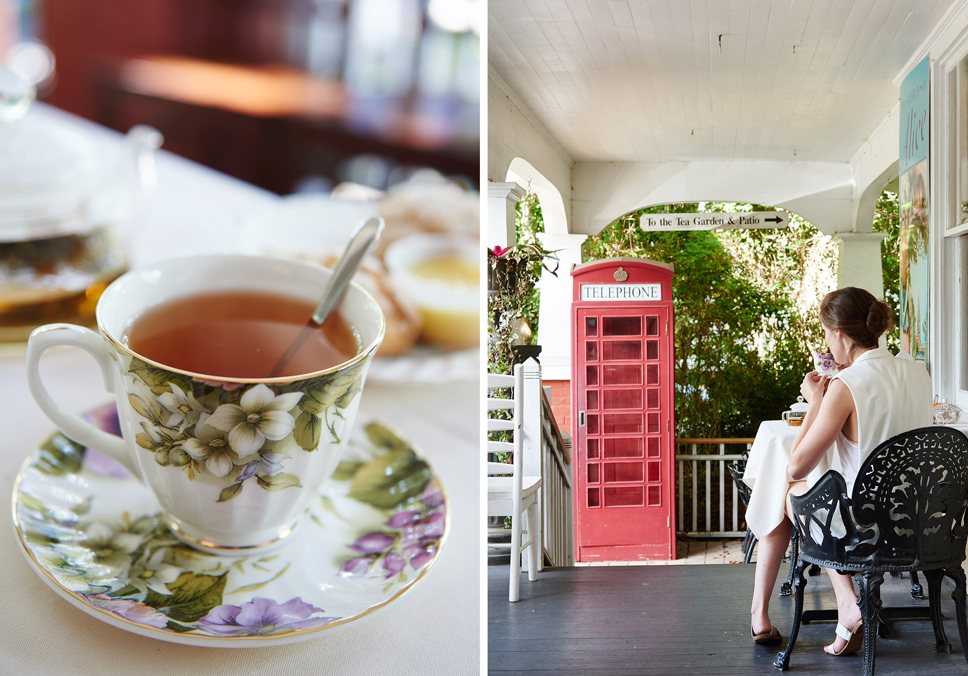 English Tea Room Porch