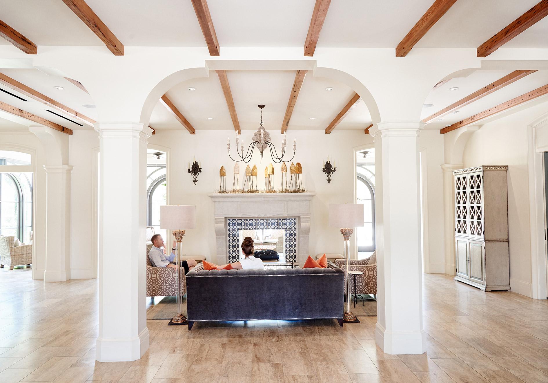 Inside Covington Hotel