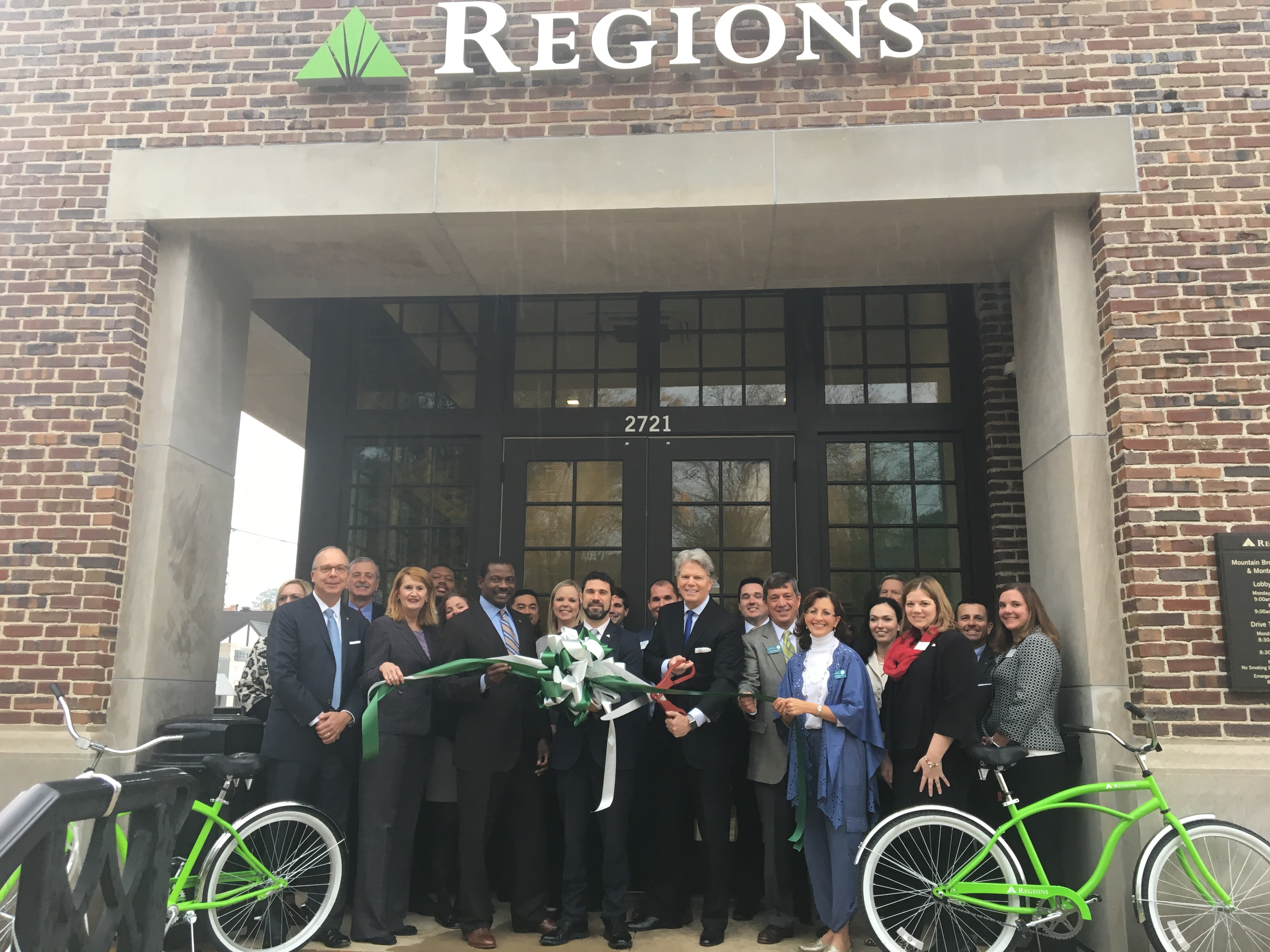 Modern Technology  More Personal Service  Regions Bank Cuts